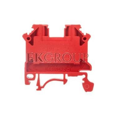 Złączka szynowa 2-przewodowa 2,5mm2 czerwona NOWA ZSG1-2.5Nc 11221311-213980