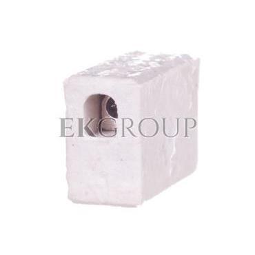 Zlaczka gwintowa porcelanowa 2,5mm2 1-torowa biała ZPA 1-2.5 44231516-213100