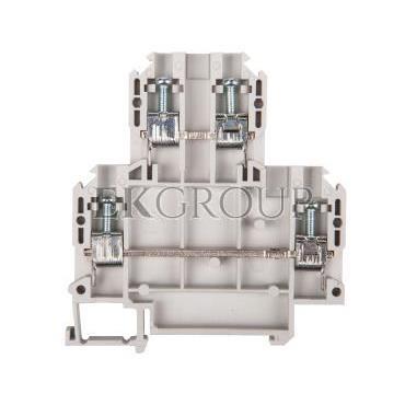 Złączka szynowa 2-piętrowa 4mm2 szara ZUW 2-4.0 13304312-213640