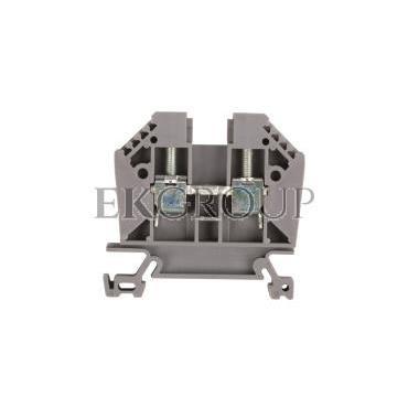 Złączka szynowa 2-przewodowa 6mm2 szara EURO 6/35 43401-213845