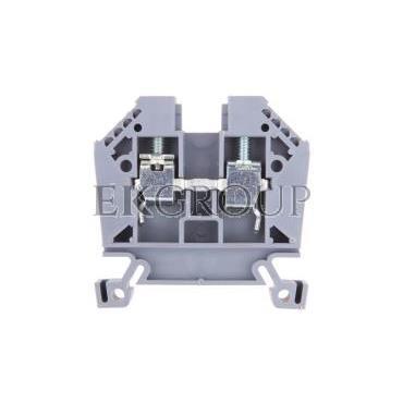 Złączka szynowa 2-przewodowa 10mm2 szara EURO 43402-213849