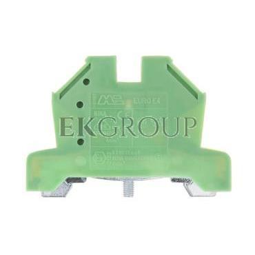 Złączka szynowa gwintowa ochronna ZSO 2,5/4mm2 żółto-zielony 43454 -213431