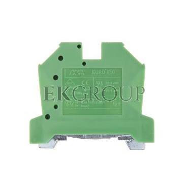Złączka szynowa gwintowa ochronna ZSO 10mm2 żółto-zielony 43458 -213433