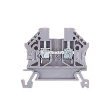 Złączka szynowa 2-przewodowa 2,5mm2 szara EURO 43408-213860