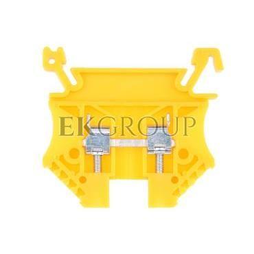 Złączka szynowa 2-przewodowa 2,5mm2 żółta EURO 43408N-213861