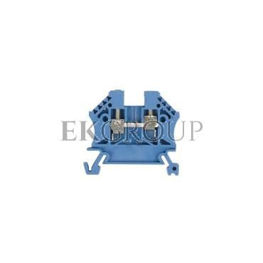 Złączka szynowa 2-przewodowa 2,5mm2 niebieska EURO 43408BL-213866