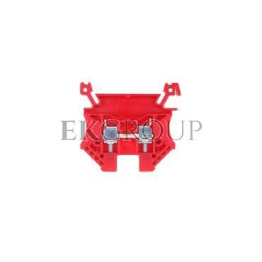 Złączka szynowa 2-przewodowa 4mm2 czerwona EURO 43409RD-213871