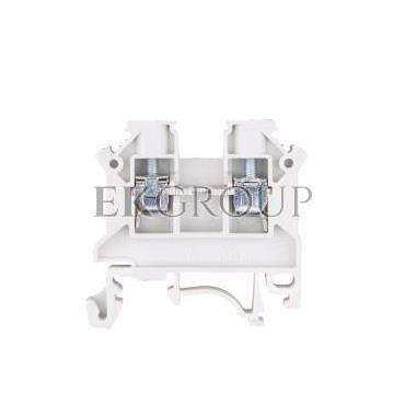 Złączka szynowa 2-przewodowa 4mm2 szara NOWA ZSG 1-4.0Ns 11321312-213881