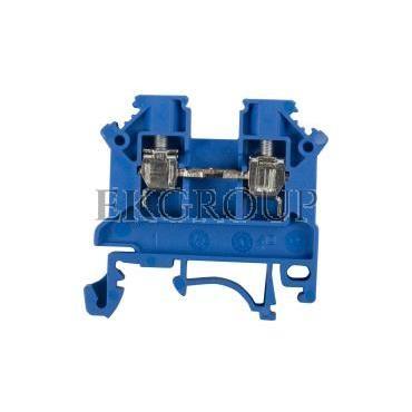 Złączka szynowa 2-przewodowa 4mm2 niebieska NOWA ZSG 1-4.0Nn 11321313-213882