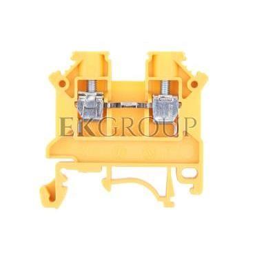 Złączka szynowa 2-przewodowa 4mm2 żółta NOWA ZSG 1-4.0Nz 11321314-213883