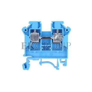 Złączka szynowa 2-przewodowa 6mm2 niebieska NOWA ZSG 1-6.0Nn 11421313-213885