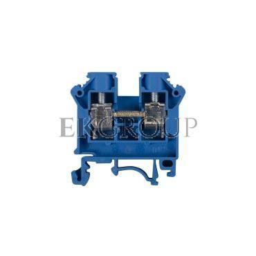 Złączka szynowa 2-przewodowa 10mm2 niebieska NOWA ZSG 1-10.0Nn 11521313-213888