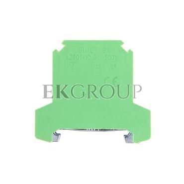 Złączka szynowa ochronna 10mm2 zielono-żółta ZSO 1-10.0 14503319-213441