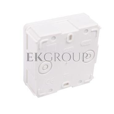 Puszka odgałężna z wkładem 5-torowa dla Cu do 2.5mm2/6-wylotowy IP55 biała 87x87x39 0226-01-211800