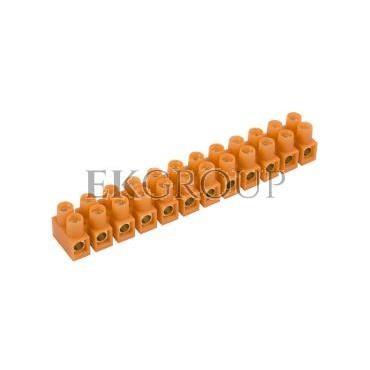 Listwa zaciskowa gwintowa 12-torowa 16mm2 pomarańczowa LTF 12-16.0 21612108-213057