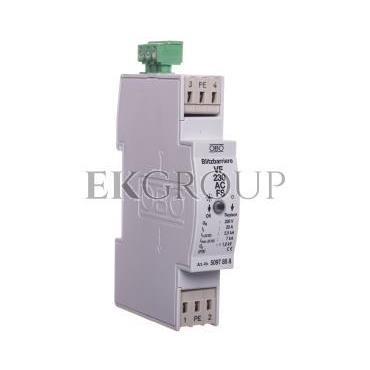 Ogranicznik przepięć dla systemów dwużyłowych 255VAC 2,5kA 1,4kV VF230 AC-FS 5097858-216874