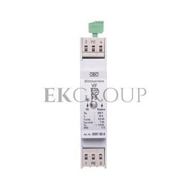 Ogranicznik przepięć dla systemów dwużyłowych 255VAC 2,5kA 1,4kV VF230 AC-FS 5097858-216875