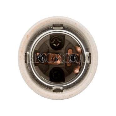 Oprawka E27 ceramiczna HLDR-E27-D 02162-200537