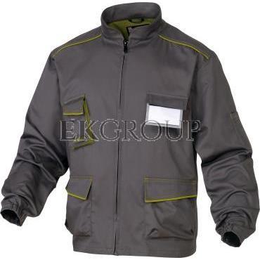 Bluza Panostyle z poliestru i bawełny szaro-zielona XXL M6VESGRXX-215168