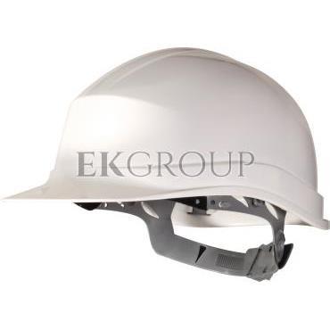 Hełm budowlany z polietylenu biały regulowany 440 VAC ZIRC1BC-215935