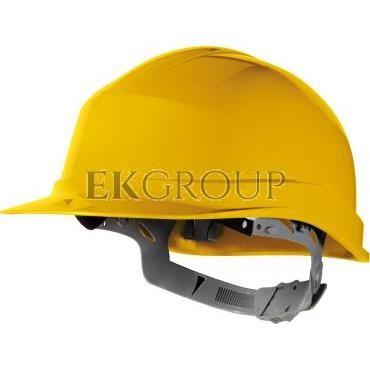 Hełm budowlany z polietylenu żółty regulowany 440 VAC ZIRC1JA-215937