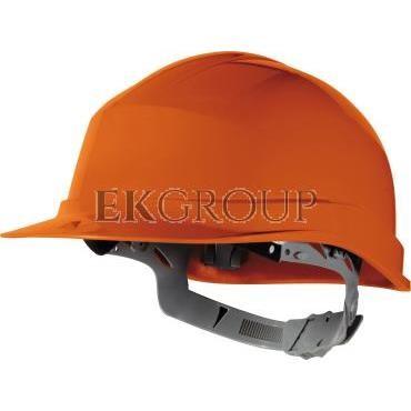 Hełm budowlany z polietylenu pomarańczowy regulowany 440 VAC ZIRC1OR-215938
