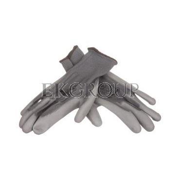 Rękawice High Tech do prac precyzyjnych szare rozmiar 8 VE702PG08-217389