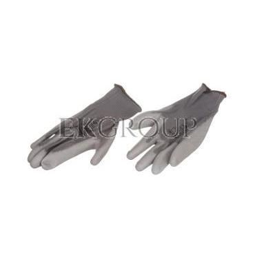 Rękawice High Tech do prac precyzyjnych szare rozmiar 8 VE702PG08-217390