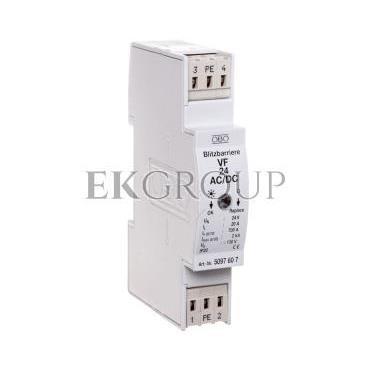Ogranicznik przepięć dla systemów dwużyłowych 80VDC 0,7kA 1,2kV VF24-AC/DC 5097607-216870