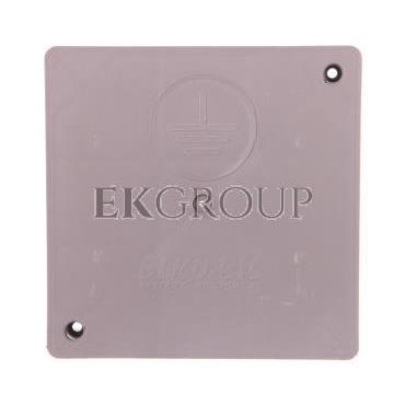 Pokrywa górna 300x300x33mm do obudowy złącza kontrolnego do gruntu PCV 50.A /95010108/-216322