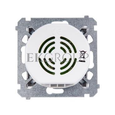 Simon 54 Dzwonek elektroniczny 70dB IP20 srebrny mat DDS1.01/43-215711
