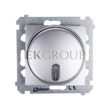 Simon 54 Dzwonek elektroniczny 12V 70dB IP20 srebny mat DDT1.01/43-215701