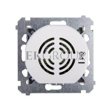 Simon 54 Dzwonek elektroniczny 12V 70dB IP20 srebny mat DDT1.01/43-215702