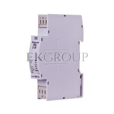 Ogranicznik przepięć dla systemów dwużyłowych 19VAC/28VDC 2,5kA 5kV FRD 2-24 5098727-216393