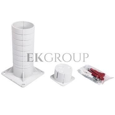 Puszka osprzętowa do dociepleń 120x120x200mm KEZ (Gniazdo) KEZ KB-216313