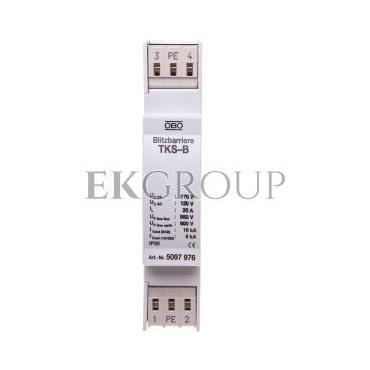 Ogranicznik przepięć linii sygnałowej 120V 18kA TKS-B 5097976-216396