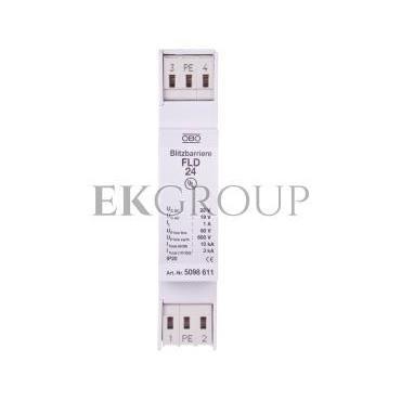 Ogranicznik przepięć dla systemów dwużyłowych 19VAC/28VDC 5kA 10kV FLD 24 5098611-216394