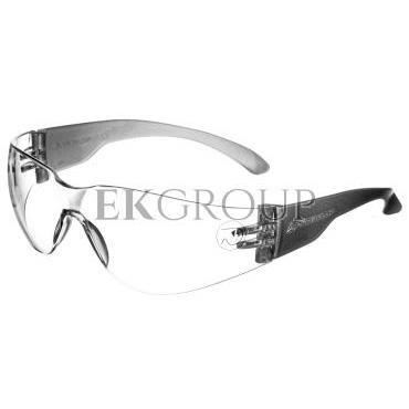 Okulary ochronne z poliwęglanu bezbarwne UV400  BRAVA2 CLEAR BRAV2IN-216922
