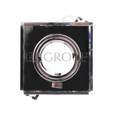 Oprawa punktowa 1x50W Gx5,3 12V IP20 MORTA CT-DSL50-SR szkło srebrna 18512-204724