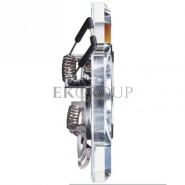 Oprawa punktowa 1x50W Gx5,3 12V IP20 MORTA CT-DSL50-SR szkło srebrna 18512-204725