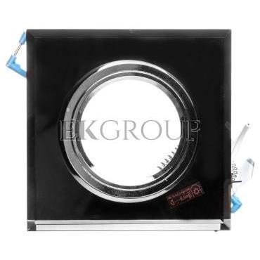 Oprawa punktowa 1x50W Gx5,3 12V IP20 MORTA CT-DSL50-B szkło czarna 18510-204720