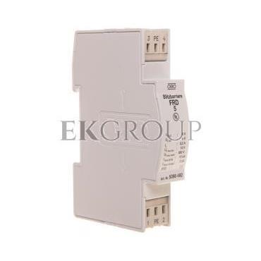 Ogranicznik przepięć dla systemów dwużyłowych 5VAC/8VDC 5kA 10kV FRD 5 5098492-216401