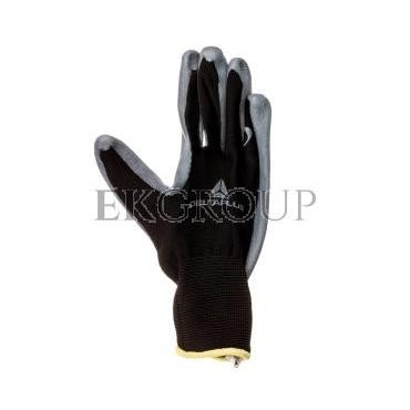 Rękawice dziane z poliestru (100%), dłoń powlekana Nitrylem, ścieg 13 rozmiar 7 VE712GR07-217422