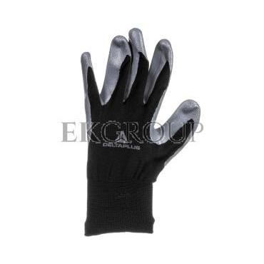 Rękawice dziane z poliestru (100%), dłoń powlekana Nitrylem, ścieg 13 rozmiar 10 VE712GR10-217392