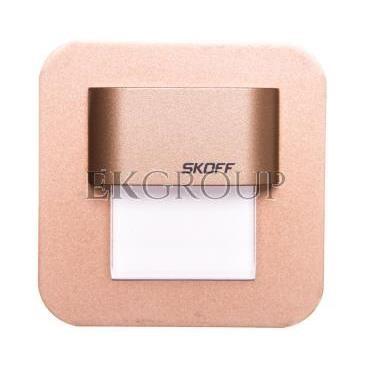 Oprawa LED 0,4W SALSA MINI STICK M (mosiądz mat) / WW (c. biały) Aluminium   lakier IP56 MH-SMI-M-H-1-PL-00-01-203409