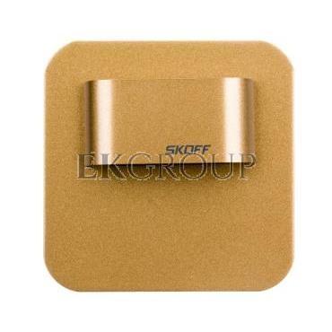 Oprawa LED 0,4W SALSA MINI SHORT M (mosiądz mat) / WW (c. biały) Aluminium   lakier IP56 MS-SMI-M-H-1-PL-00-01-203413