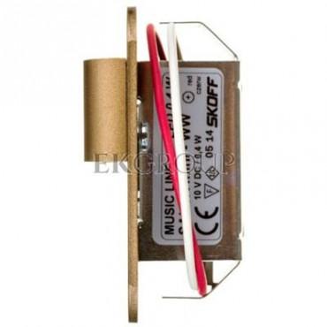 Oprawa LED 0,4W SALSA MINI SHORT M (mosiądz mat) / WW (c. biały) Aluminium   lakier IP56 MS-SMI-M-H-1-PL-00-01-203414