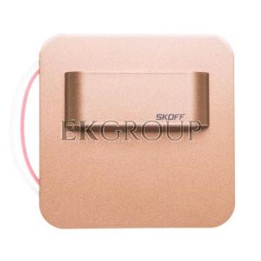 Oprawa LED 0,8W SALSA STICK M (mosiądz mat) / WW (ciepły biały) Aluminium   lakier IP56 MS-SMS-M-H-1-PL-00-01-203403