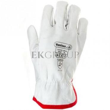 Rękawice ze skóry licowej bydlęcej rozmiar 8 FBN4908-217399