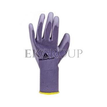 Rękawice dziane z poliestru (100%), dłoń powlekana Poliuretanem, ścieg 13 szare rozmiar 7 VE702PG07-217413